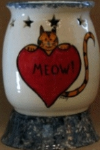 Cat Meow Candle Burner