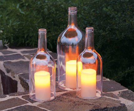 Bottle Candle Covers