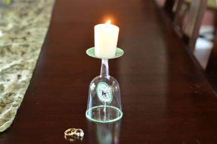 Suspended Monogram Candle Holders